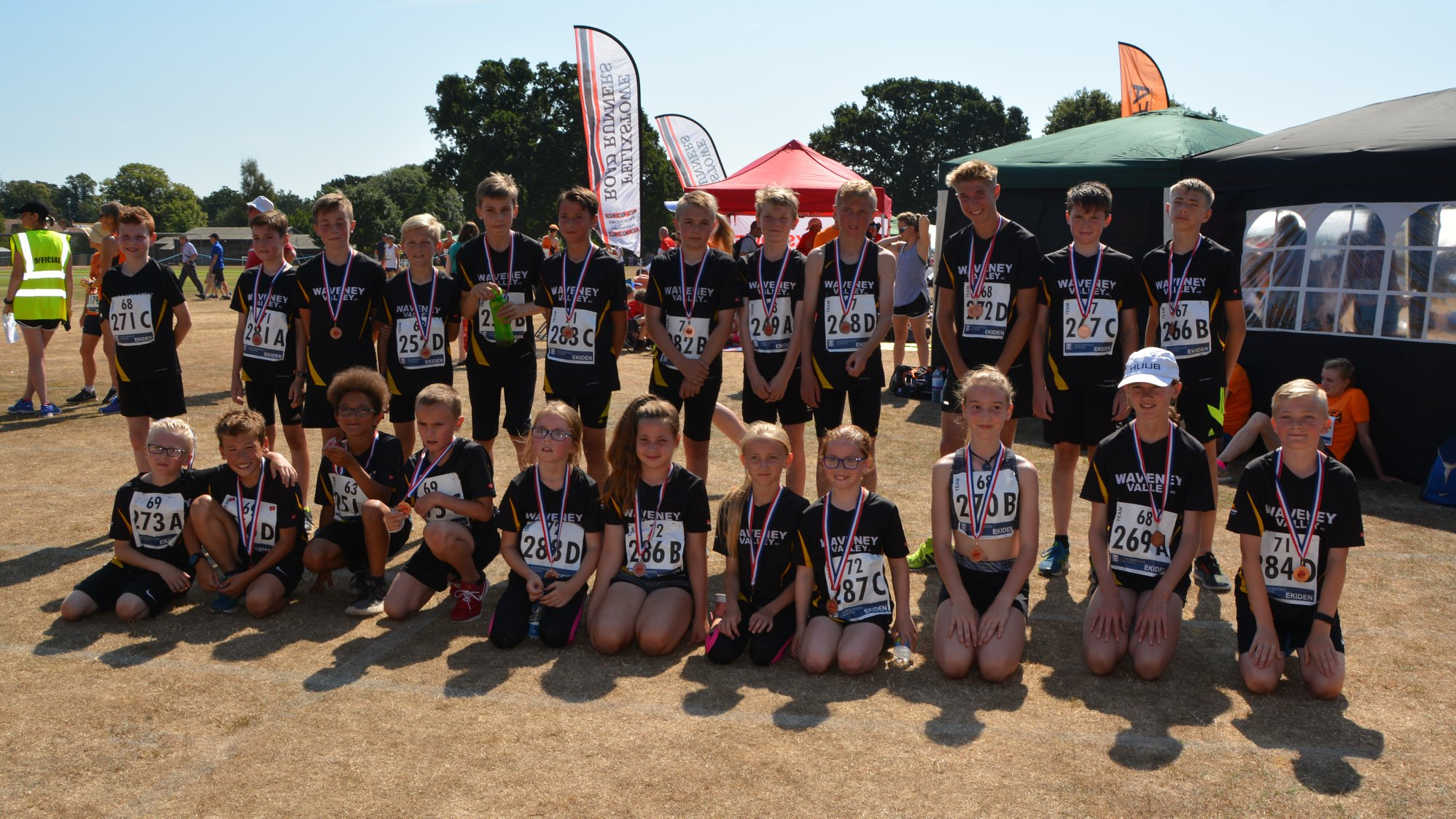 Waveney Ekiden Junior Team 2018